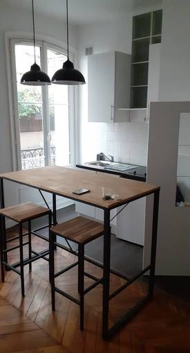 Location studio 22 m² Paris 19E (75019) - 665 €