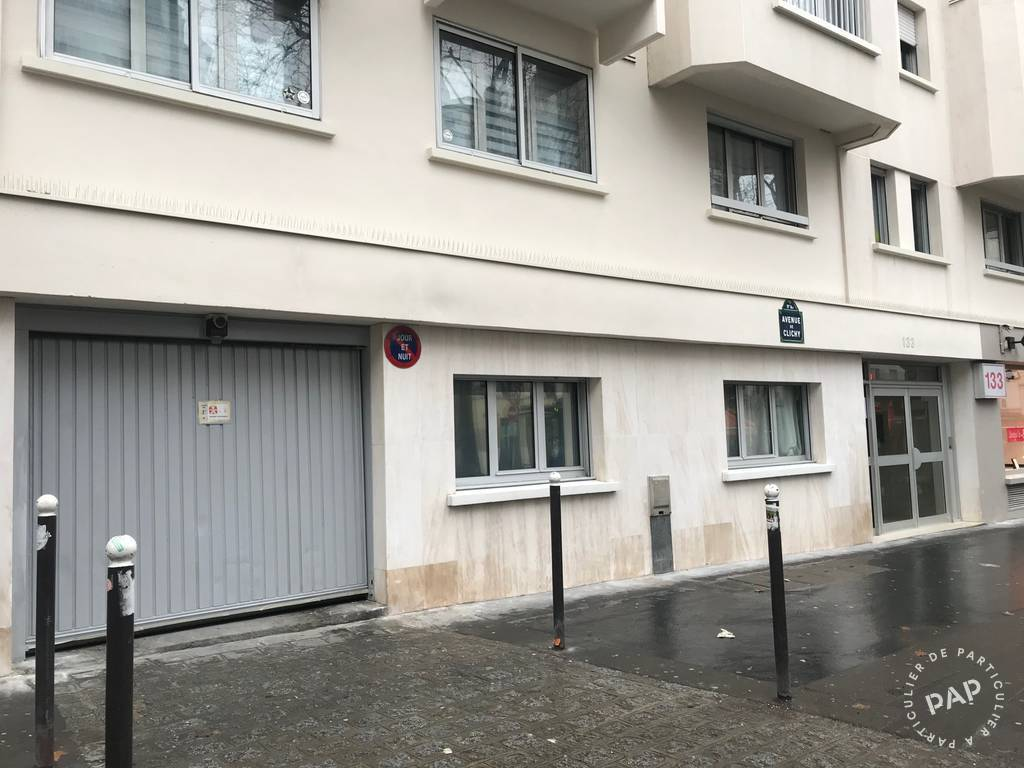 Vente Garage, parking Paris 17E (75017)  55.000€