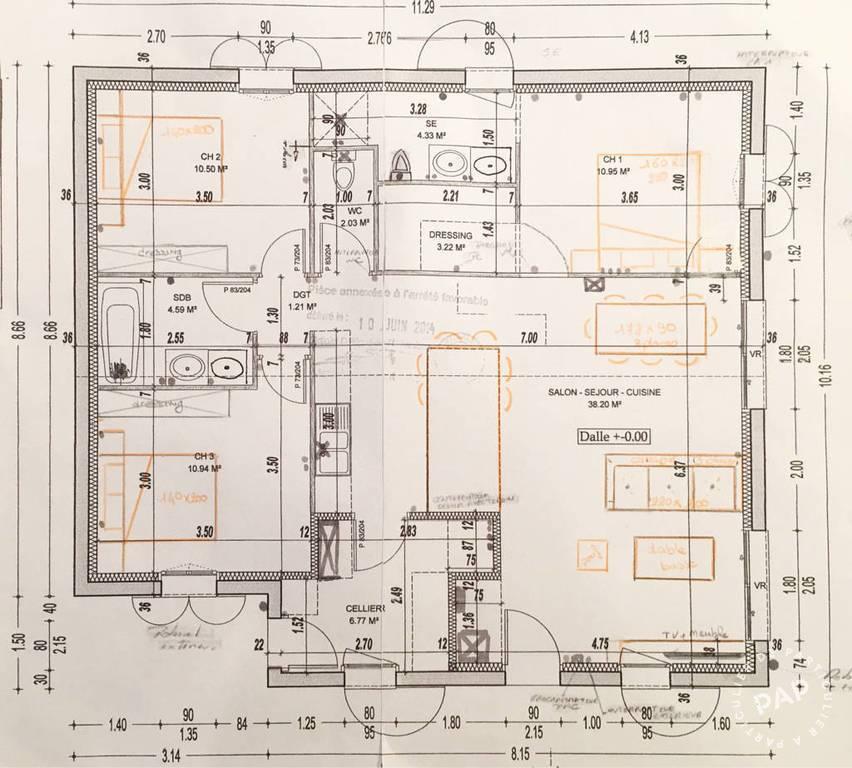 Maison 93m²