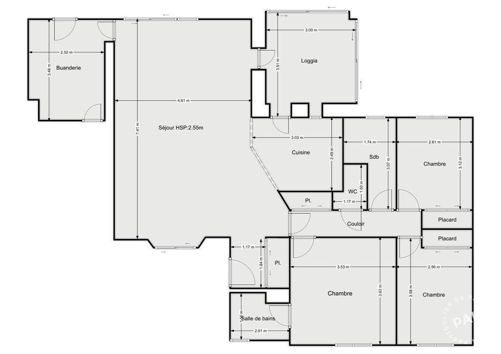 Vente Maison Antibes (06600) 105m² 680.000€