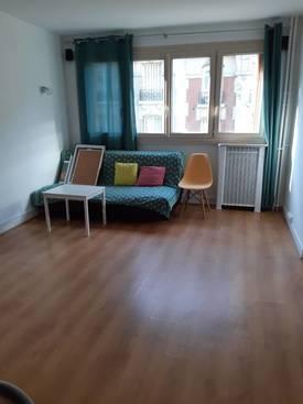 Location meublée appartement 2pièces 45m² Paris 19E (75019) - 1.350€