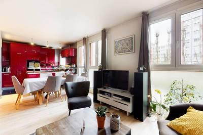 Vente appartement 3pièces 61m² Paris 19E (75019) - 495.000€