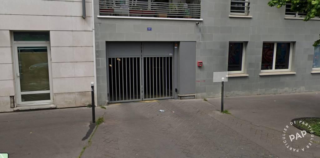 Location Garage, parking Paris 19E  75€