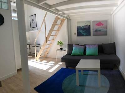 Location meublée studio 19m² Lille (59000) - 520€