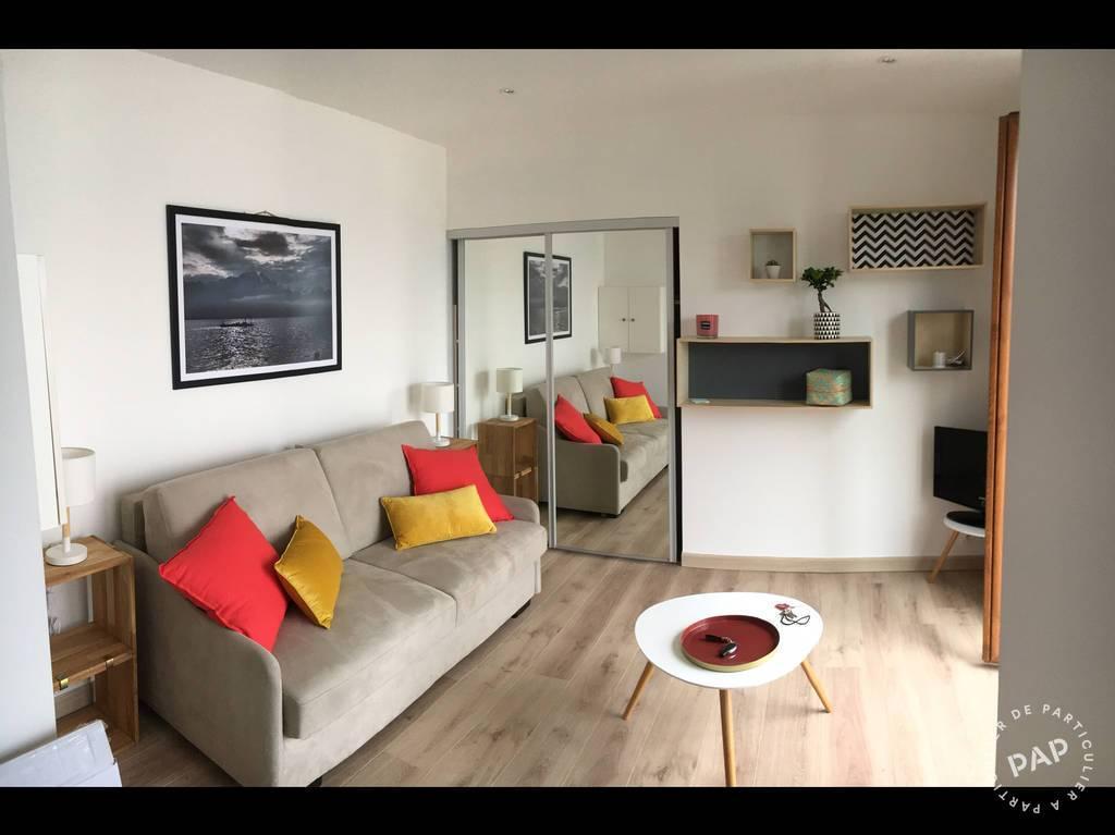 Location appartement studio Publier (74500)