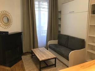 Location meublée studio 27m² Paris 11E (75011) - 995€