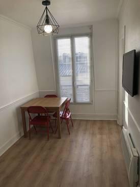 Location meublée appartement 2pièces 38m² Paris 17E (75017) - 1.225€