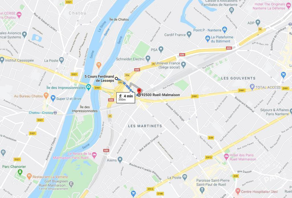 Vente immobilier 38.000€ Rueil-Malmaison (92500)