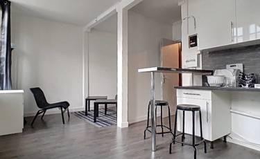 Location meublée appartement 22m² Rouen (76000) - 445€