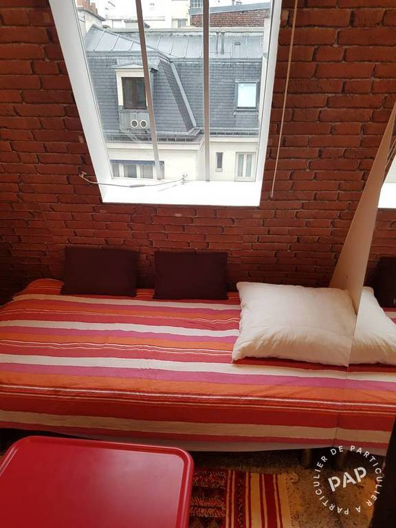 Vente appartement studio Paris 16e