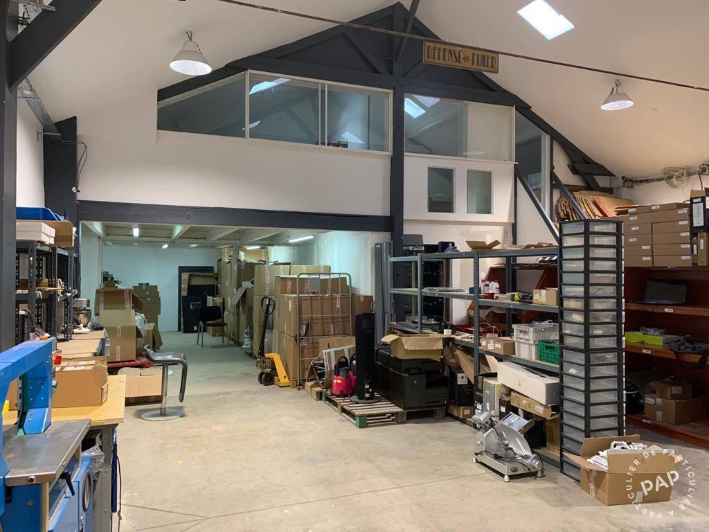 Vente et location Local d'activité Saint-Maur-Des-Fossés (94210) 160m² 1.600€