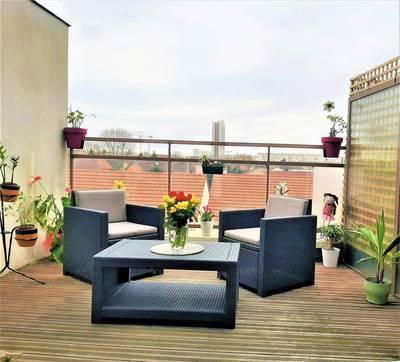 Vente appartement 5pièces 110m² Gennevilliers (92230) - 492.000€