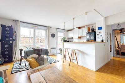 Vente appartement 2pièces 47m² Paris 13E (75013) - 570.000€