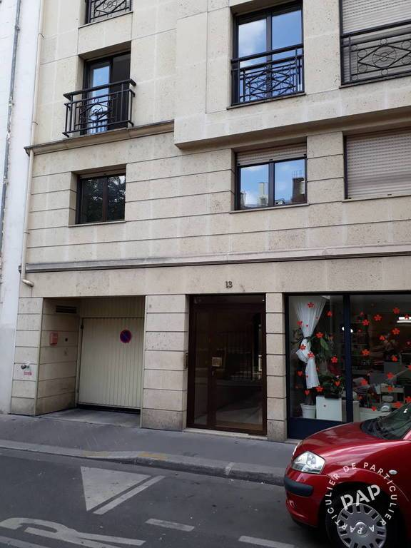 Vente Garage, parking Paris 16E (75016)  87.000 €