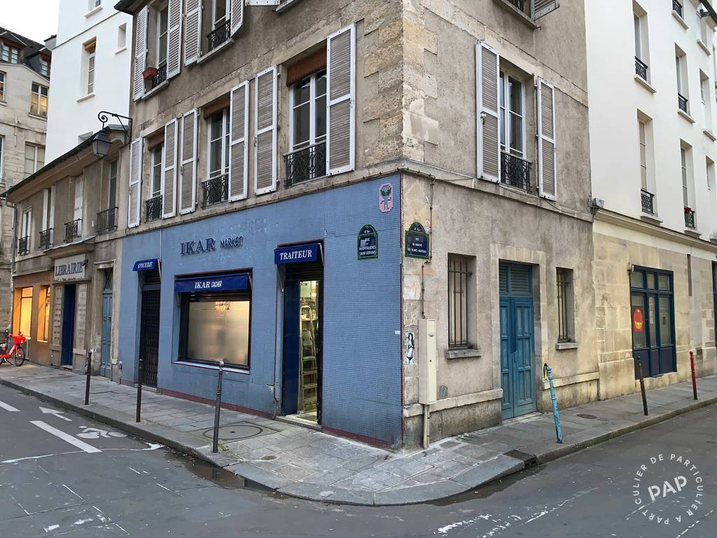 Vente et location Local commercial Paris 4E (75004)