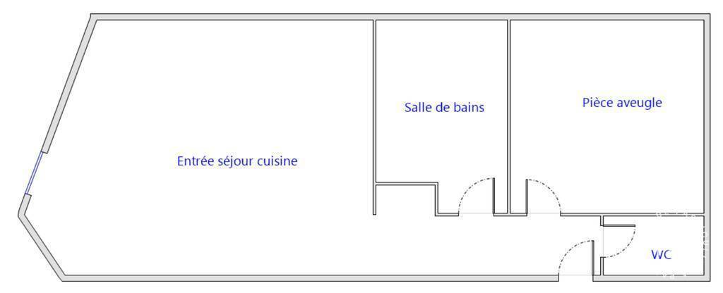 Location immobilier 580€ Nîmes (30000)