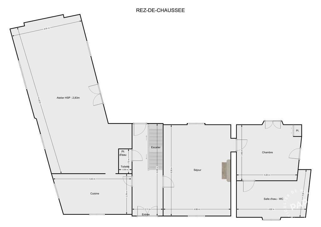 Vente Maison Prévillers (60360)
