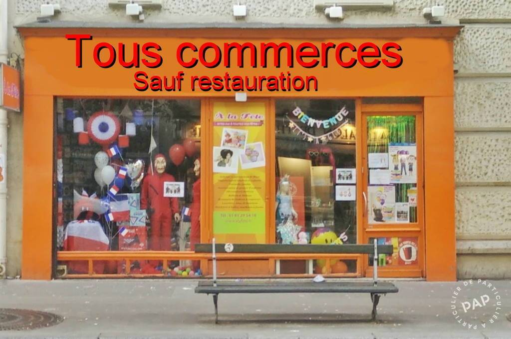 Vente et location Fonds de commerce Paris 15E (75015) 70 m² 50.000 €
