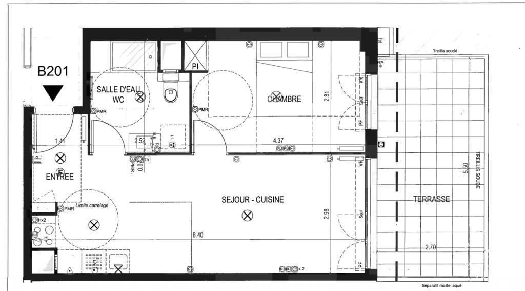 Vente appartement 2 pièces Meudon (92190)