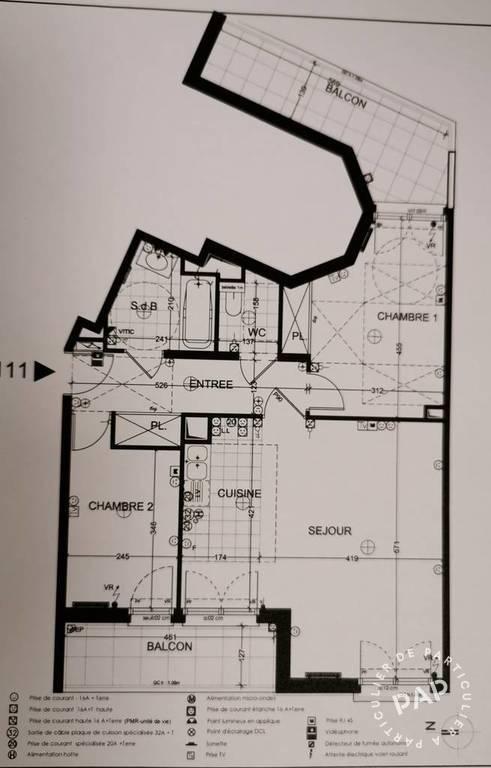 Vente Appartement Bois-Colombes (92270) 67m² 530.000€