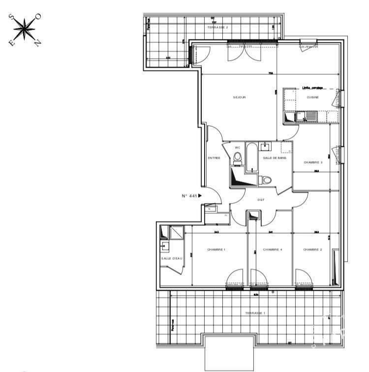 Vente appartement 5 pièces Rosny-sous-Bois (93110)
