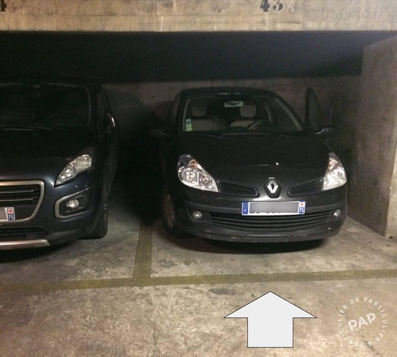 Location Garage, parking Paris 18E (75018)  125€