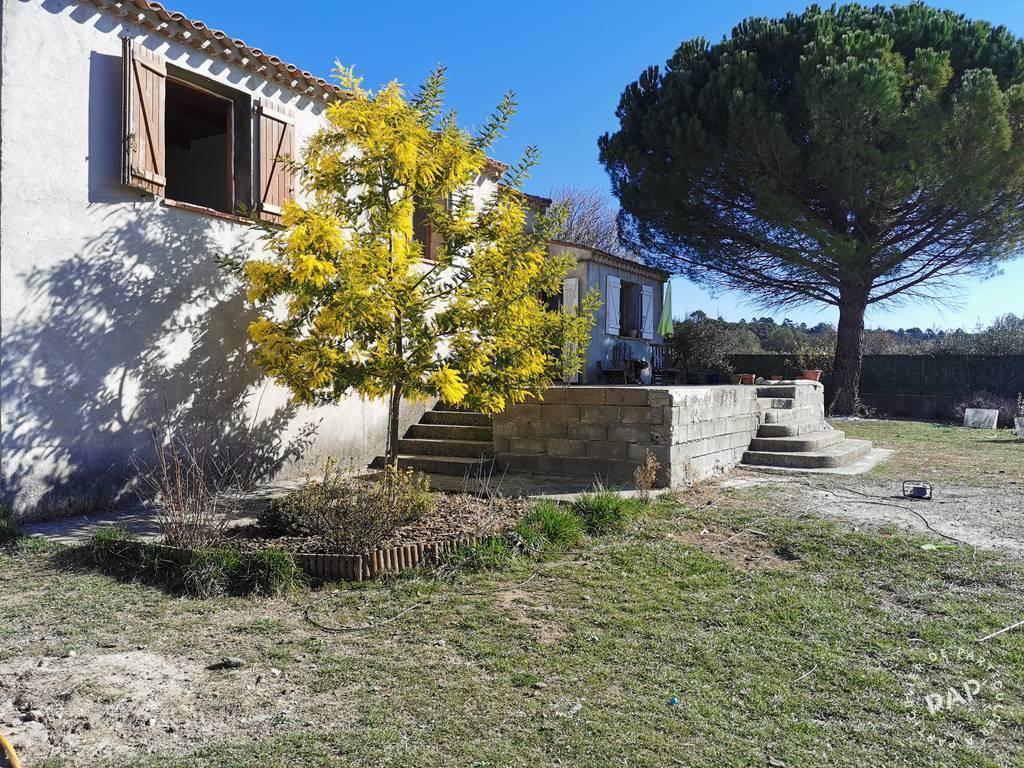 Vente maison 7 pièces Régusse (83630)