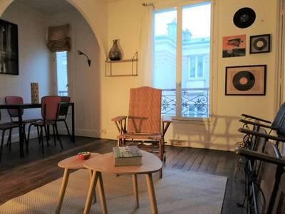 Location meublée appartement 2pièces 37m² Paris 20E (75020) - 1.480€