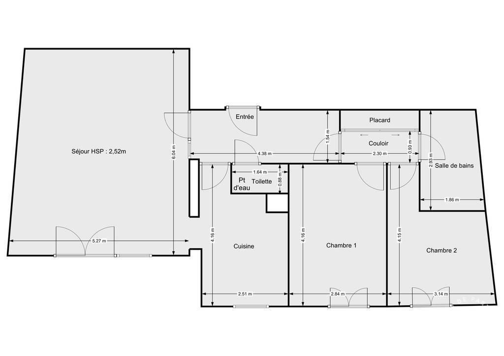 Vente Appartement Lens (62300) 77m² 145.000€