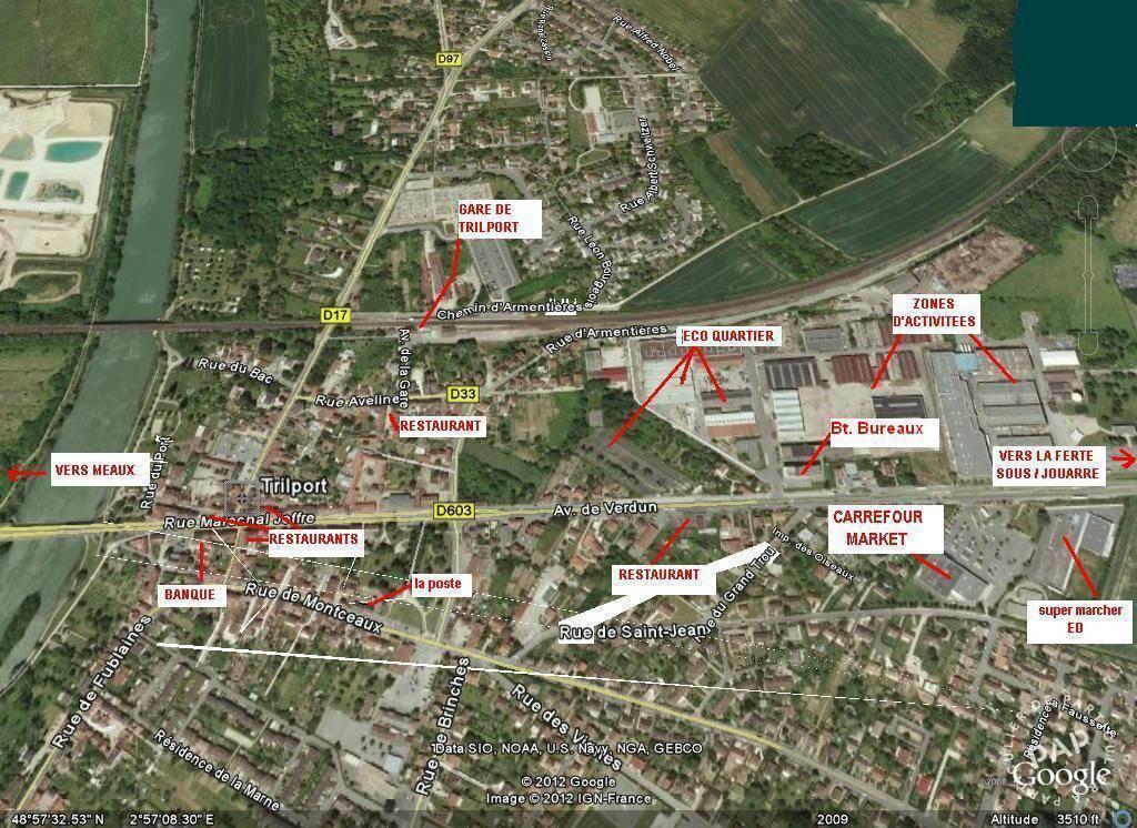 Vente et location Bureaux, local professionnel Trilport (77470) 1.600m²