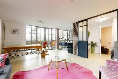 Vente appartement 5pièces 120m² Wambrechies (59118) - 419.000€