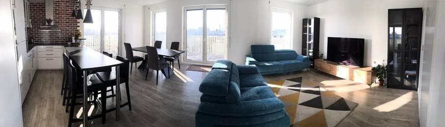 Location meublée appartement 4pièces 100m² Nanterre (92000) - 2.390€