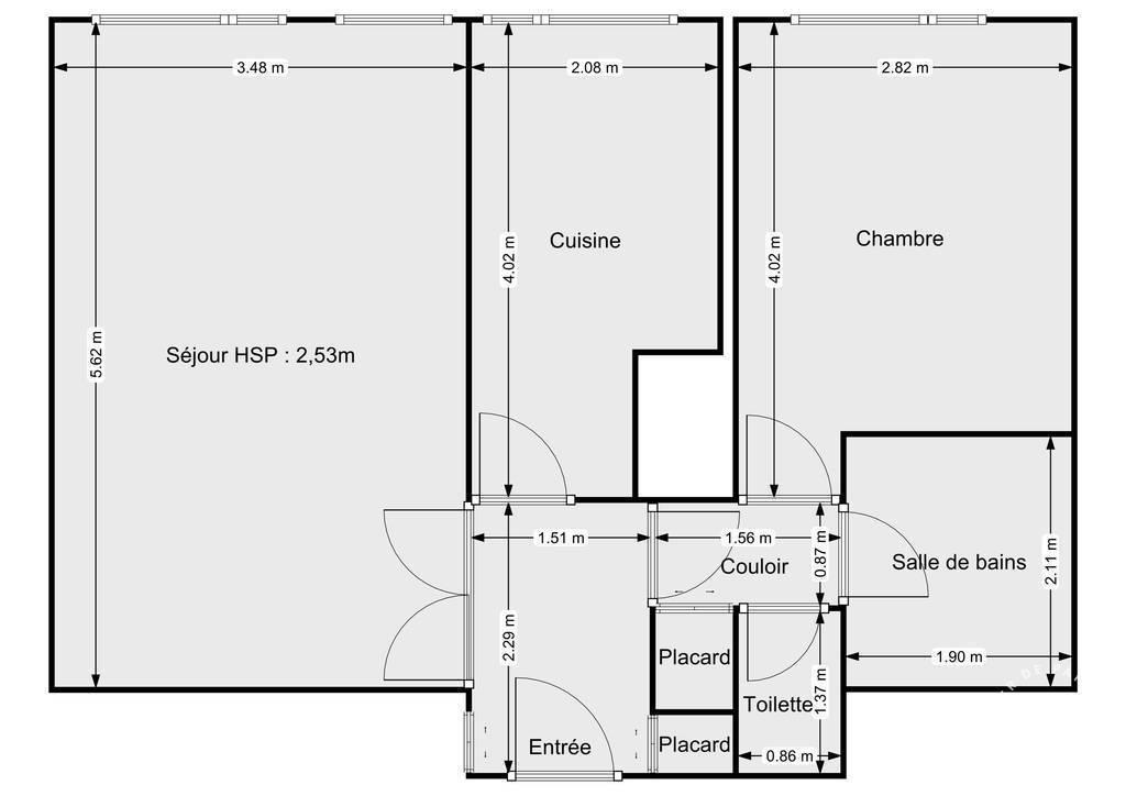 Vente Appartement Paris 13E (75013) - Place D'italie 48m² 446.000€