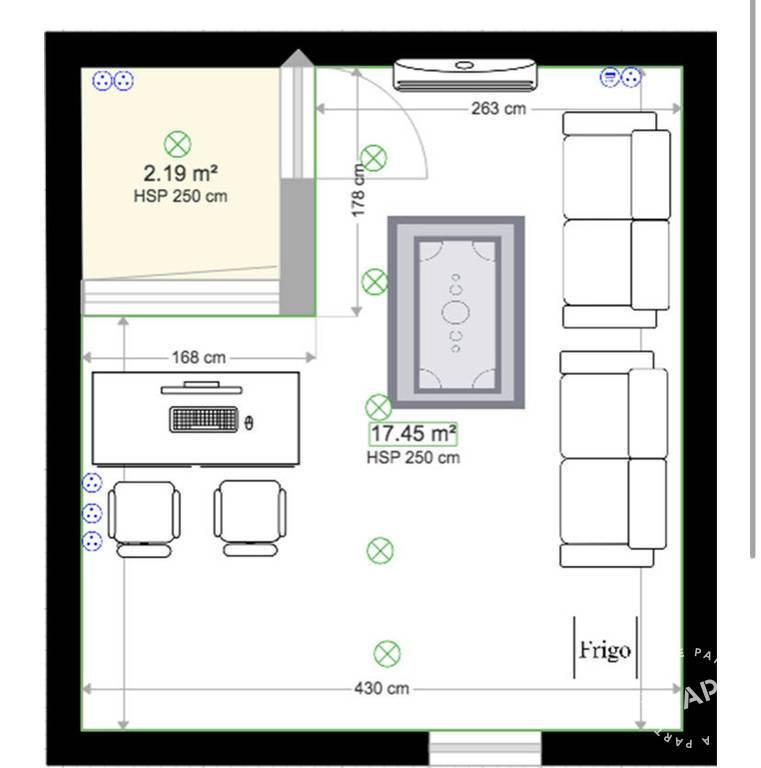 Vente et location Local d'activité Charenton-Le-Pont (94220) 25m² 800€