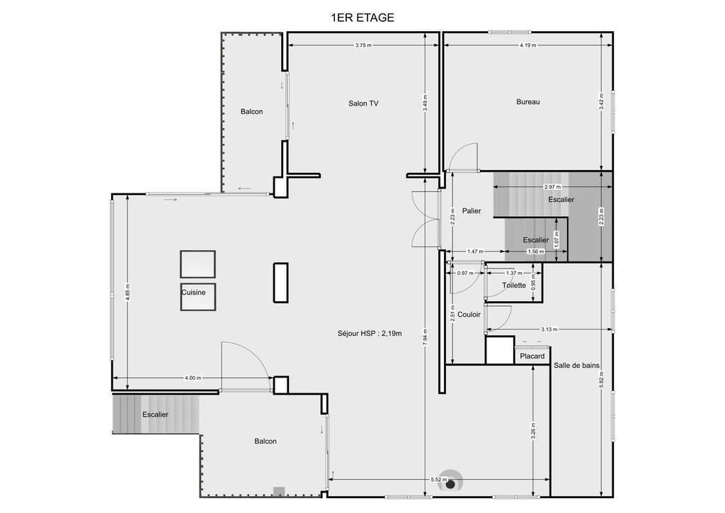 Maison Construction D'architecte - Idéale Grande Famille / Prof. Libérale 915.000€
