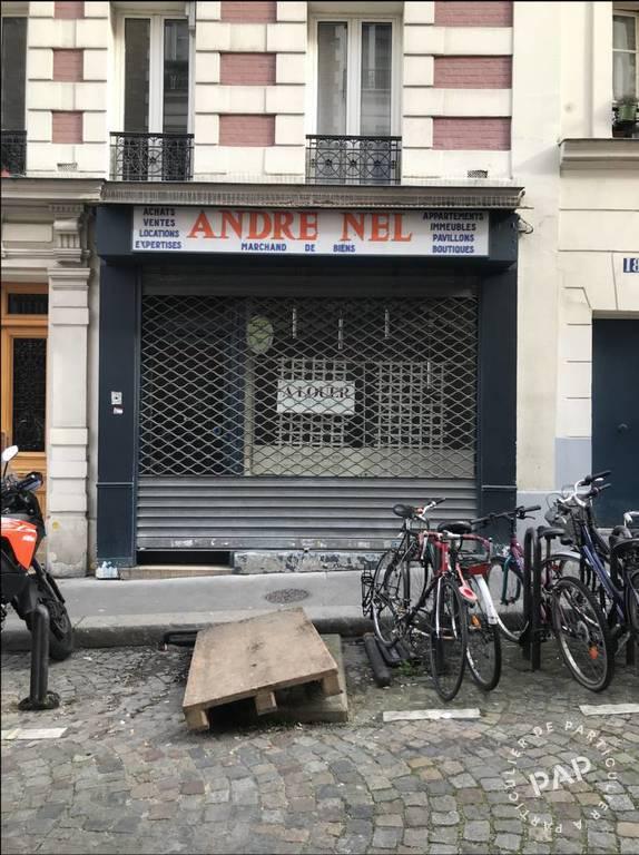 Vente et location Local commercial Paris 18E (75018) 60m² 2.000€