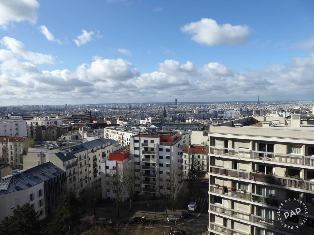 Vente appartement 3 pièces Paris 20e