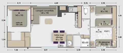 Vente immobilier 21.900€ Les Mathes (17570)