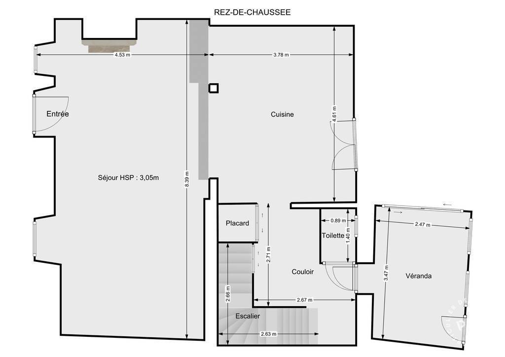 Vente Maison Aiguillon - 7 Km 130m² 185.000€