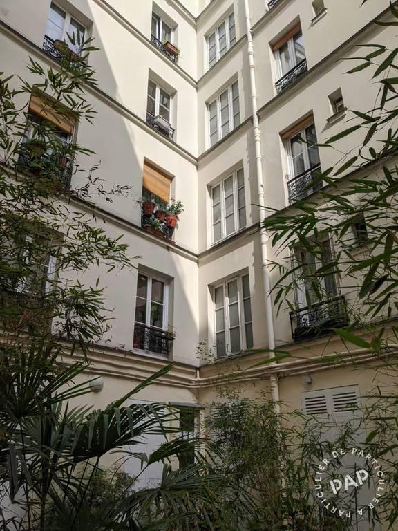 Vente appartement studio Paris 18e