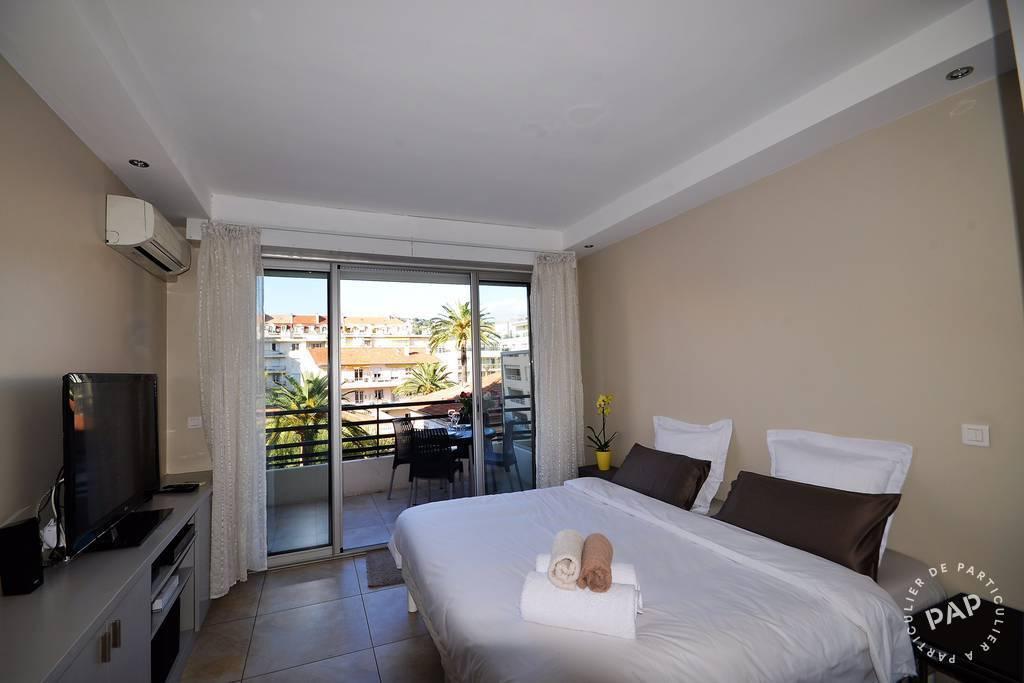 Location Appartement Cannes-Croisette 18m² 770€