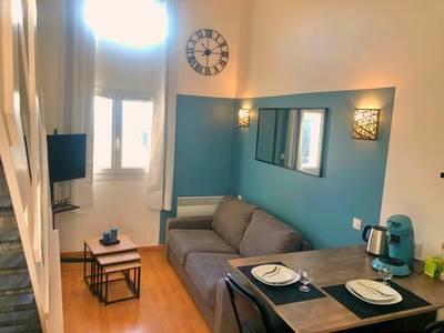 Location meublée appartement 2pièces 26m² Bussy-Saint-Georges (77600) - 800€