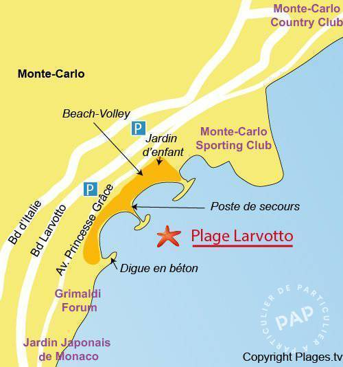 Location Appartement Beausoleil (06240)