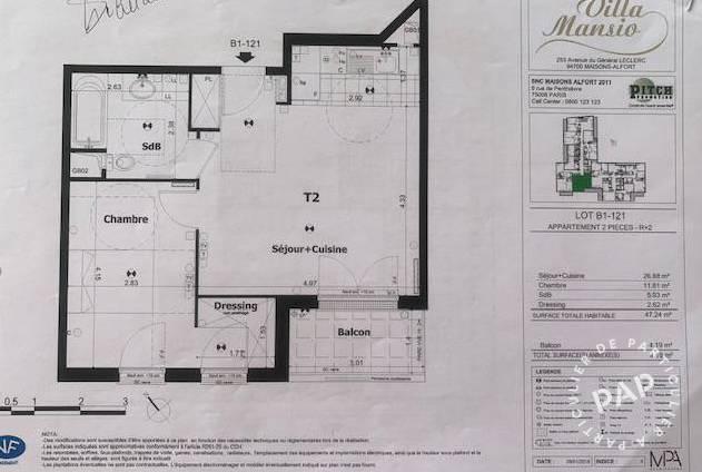 Appartement Maisons-Alfort (94700) 340.000€
