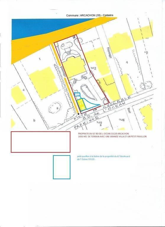 Immobilier Arcachon (33120) 5.037.500€ 725m²