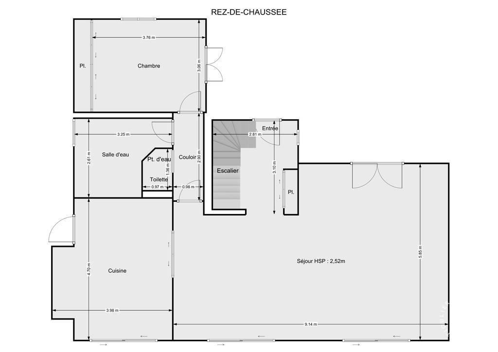 Vente Maison 25 Km Auxerre - 7Km Aillant Sur Tholon