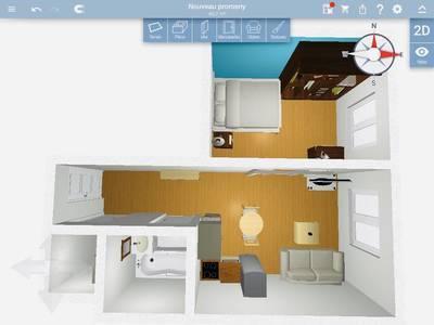 Location meublée appartement 2pièces 25m² Vincennes (94300) - 930€