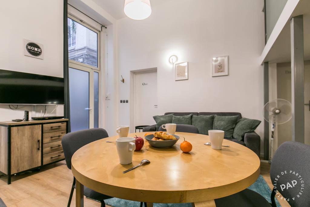 Location appartement 3 pièces Paris 2e
