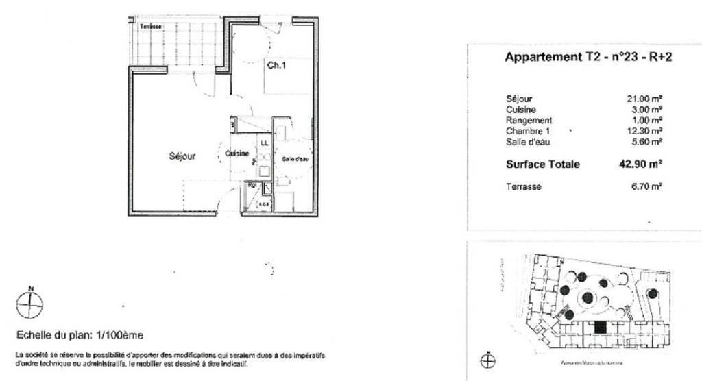 Vente Appartement Avec Parking Sous-Terrain Mérignac