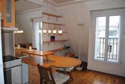 Location meublée appartement 2pièces 35m² Paris 10E (75010) - 1.300€
